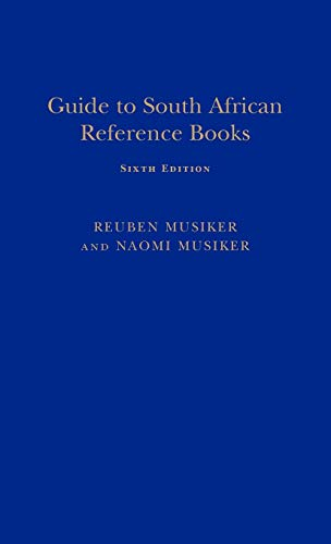 Guide to South African Reference B