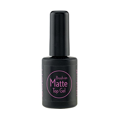 ADEN Brush-On Matte Top Gel, 1er Pack