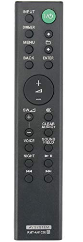 ALLIMITY RMT-AH102U Fernbedienung Ersetzte für Sony AV System HT-XT100 HTXT100 RMTAH102U