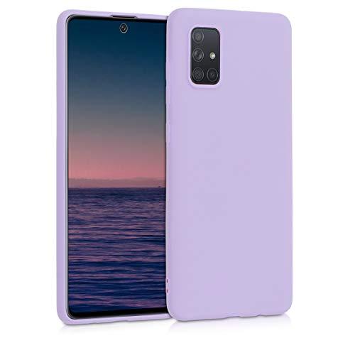 kwmobile Hülle kompatibel mit Samsung Galaxy A71 - Handyhülle - Handy Hülle in Lavendel