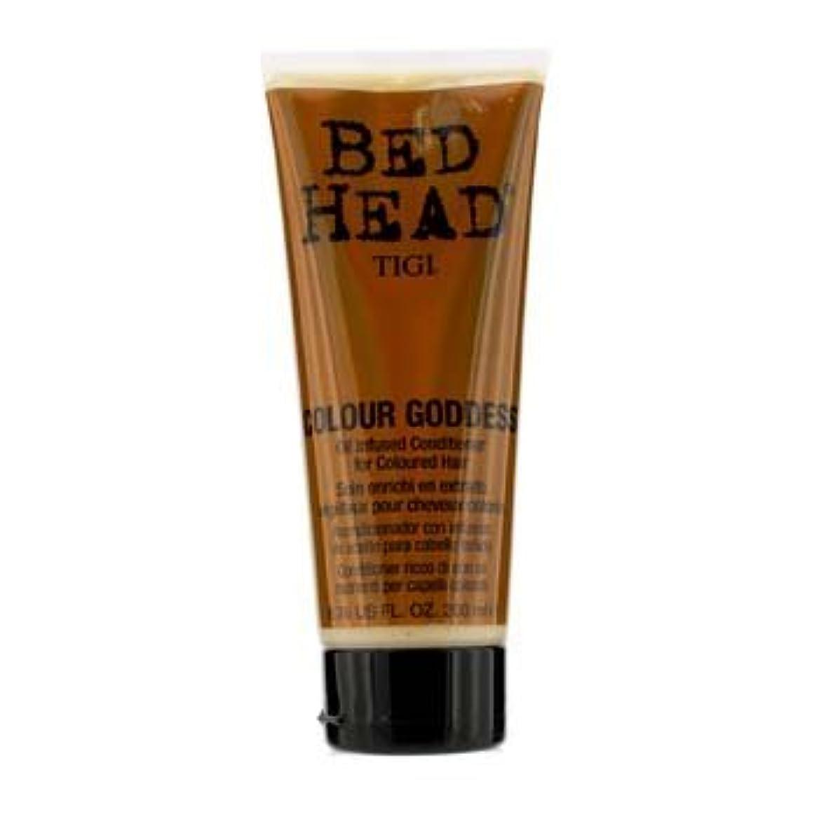 オークションパターン破裂Tigi Bed Head Colour Goddess Oil Infused Conditioner (For Coloured Hair) 200Ml/6.76Oz by Tigi [並行輸入品]