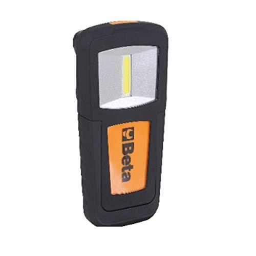 Beta 1838COB Lampada Ricaricabile Compatta con LED ad Altissima Luminosità. Batteria ai Polimeri di Litio