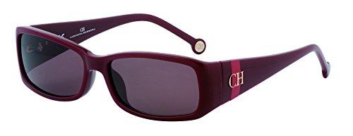 Carolina Herrera SHE5125609FH Gafas de sol, Rojo, 56 para Mujer