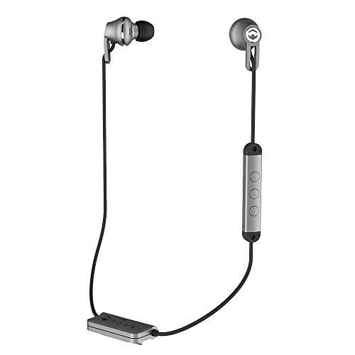 Paww Kabelloser Kopfhörer mit Bluetooth 4.1 Verbindung - Dual Sound Silber
