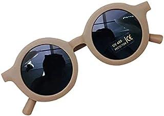 Générique - Gafas de sol polarizadas resistentes para niños y niñas, 100% protección UV400, a partir de 2 años, diseño retro