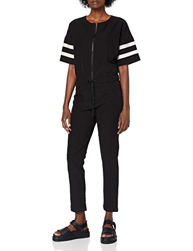 G-STAR RAW Damen D-STAQ Sport Jumpsuit, Schwarz (Black 9285-990), S