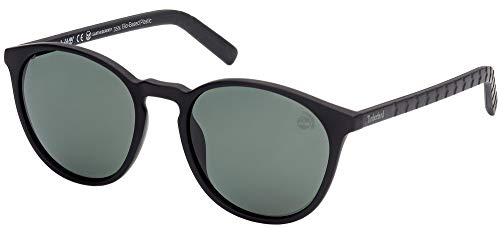 Timberland Gafas de Sol TB9223 Matte Black/Green 55/20/145 hombre
