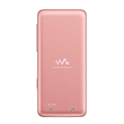 ソニーウォークマンSシリーズ16GBNW-S315:Bluetooth対応最大52時間連続再生イヤホン付属2017年モデルライトピンクNW-S315PI