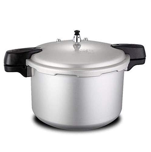 Cocina de presión de aluminio, multifunción 28 cm Cocina de gran capacidad de gran capacidad Cantina Cocina de presión de presión adecuada para estufa de gas, 11.5L ( Color : Silver , Size : 11.5L )