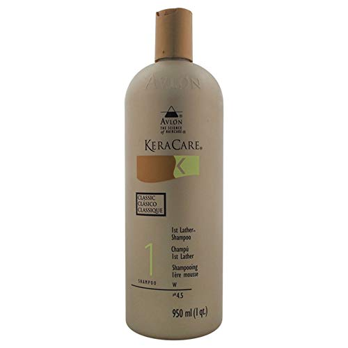 KeraCare 1st Lather Shampoo - 32 oz / liter by Avlon