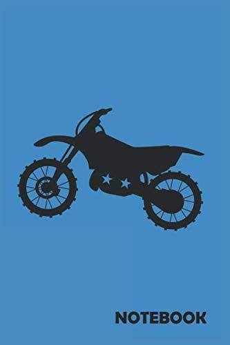 NOTEBOOK: Motocross Bike: Notizbuch / Notebook / Journal / Taschenbuch Geschenk (6 x 9 Zoll - 110 Seiten - 4x4 kariert) Notebook, Notizblock, Bloc-notes, Bloc de notas, Blocco note