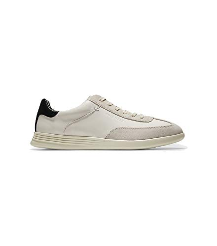 Price comparison product image Cole Haan Men's Grand Crosscourt Turf Sneaker,  Ivory / Pumice Stone Leather / Suede,  11 M US