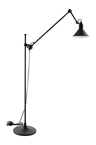 RTRY Minimalista E27 Negro Ajustable Lámpara de pie para el dormitorio Sala de estar Personal Office Lectura de la cama Lighting lámpara de pie moderna clásica