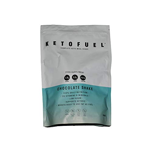 KetoFuel Complete Keto Meal Shake 500g (Chocolate)