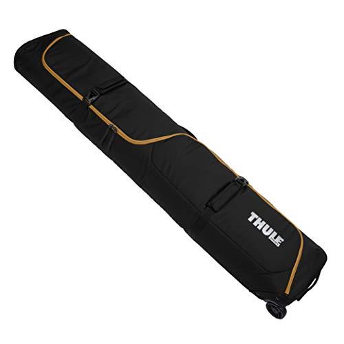 Thule Roundtrip Ski Roller Bag, Black/Wood Thrush , 192cm