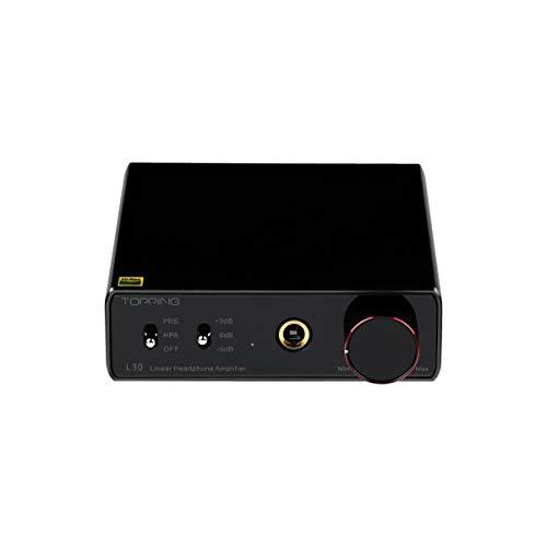 Topping L30 Mini HiFi Amp Audio Hi-Res Headphone Amplifier NFCA Preamplifier Black