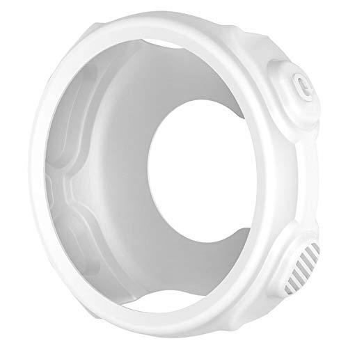 HXSZWJJ De Silicona Caso Protector For Garmin Caja del Reloj De Pulsera De Replacment De Suave For Garmin Forerunner 235 / 735XT Reloj GPS (Color : White)