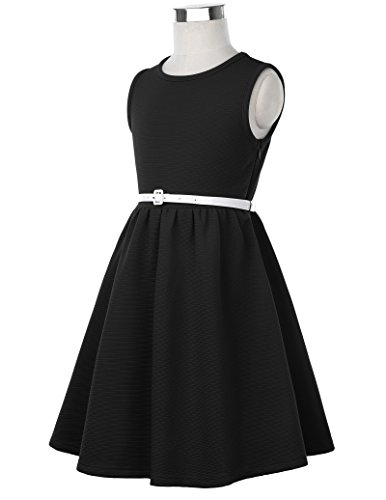 GRACE KARIN Girls Casual Swing Dresses for Toddler 11yrs CL0482-1