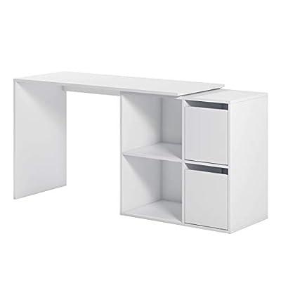 La mesa de estudio multiposición Adapta es una mesa de oficina o escritorio de líneas depuradas y formas sencillas pero muy práctico. Mesa reversible y te permitirá montar el módulo de almacenaje (baldas y puertas) a derecha o izquierda, de cara o de...