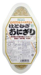 活性発芽玄米 はとむぎおにぎり(2個入)×20個   JANコード:4932828023069 オーサワジャパン��