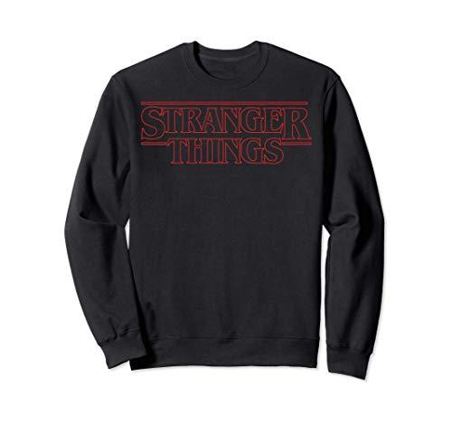 Netflix Stranger Things Outline Logo Sudadera