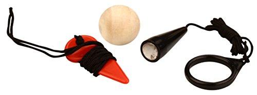 Get & Go Jeu de Boules Petanque Accessories Set, Black, One Size