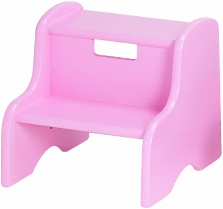 Little colorado 105MDFSP Soft Pink Step Stool