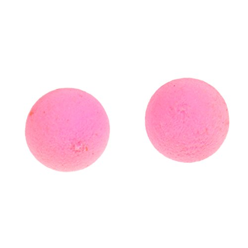 T TOOYFUL 1 Box Carp Fishing Popup Boilies Sweet Flavor Bait Soluble Lure 8/10/12/14mm - Pink-Pear, 10mm