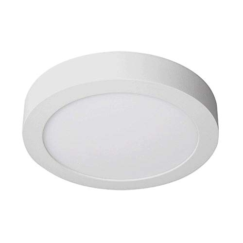Downlight Panel LED Superficie Plafon Circular 20W 6000k Blanco Frío 2000lm