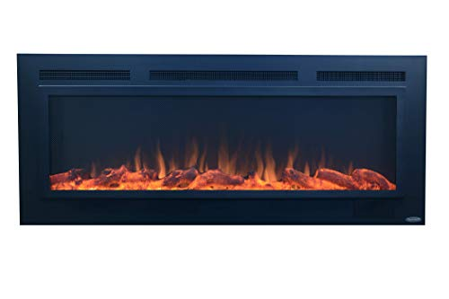 """The Touchstone Sideline Anti-Glare Screen-Front 50"""" 80013 Electric Fireplace"""