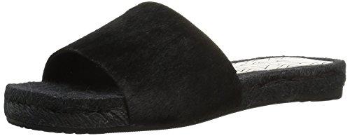 Dolce Vita Women's Vonn Espadrille Sandal, Black Calf Hair, 9.5 M US
