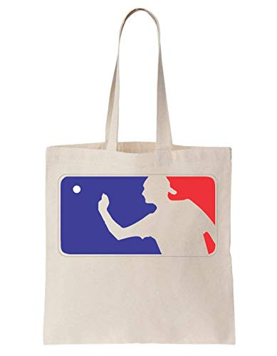 KRISSY Beer Pong League Logo Schultertasche Tote Bag