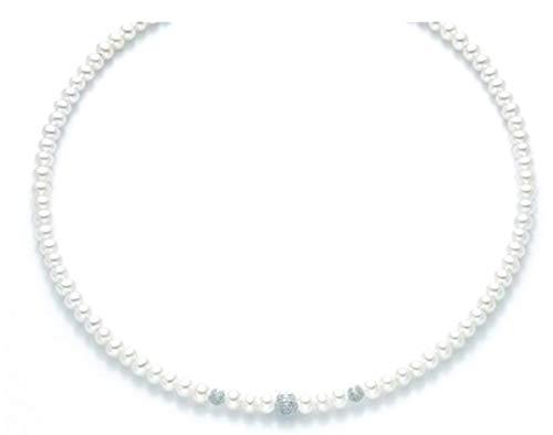 Yukiko Collana Perle Filo della Bellezza Oro - PCL5300Y
