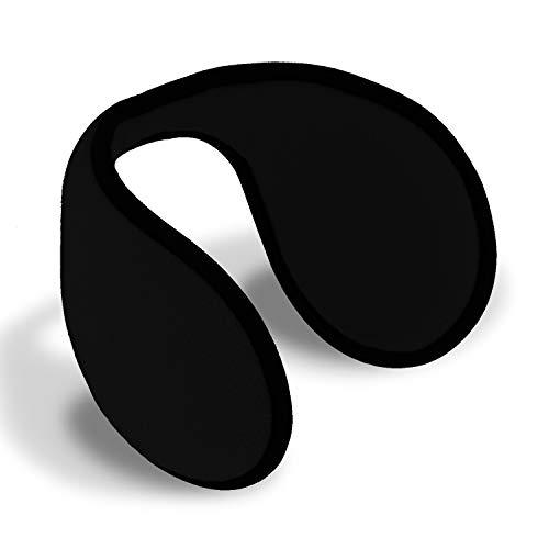 fiebig Ohrenschützer (Ohrenwärmer) für Damen und Herren | Earband in One Size Einheitsgröße 54-63 cm | innovativer Ohrenschutz hält die Ohren warm im Winter | Ohrwärmer (Schwarz)