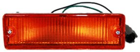 TYC 12-1229-52 Nissan Front Passenger Side Replacement Parking/Signal Lamp Assembly