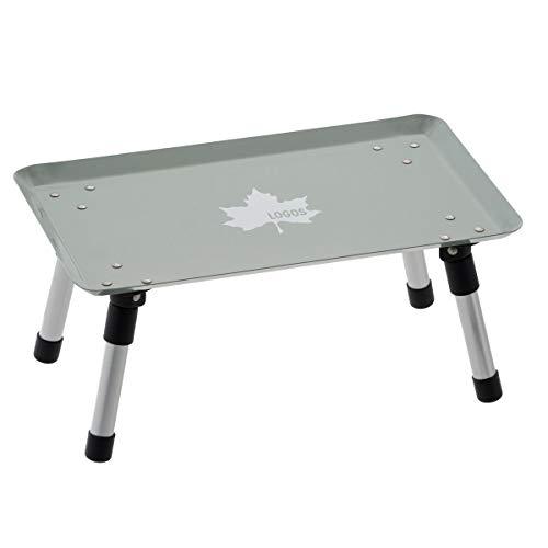 ロゴス(LOGOS) スタックカラータフテーブル(ヴィンテージブルー) 73189049