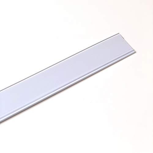Pack de 50 portaprecios con adhesivo a 1 metro para etiquetas de 39mm Color Blanco