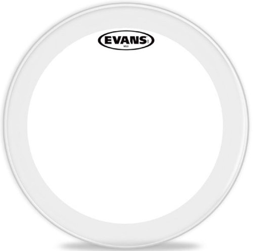 Evans Polyester Marching Snare Side Drumhead, 14 Inch