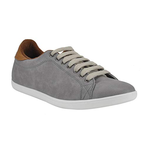 Franco Leone Grey Men's Casual Sneakers
