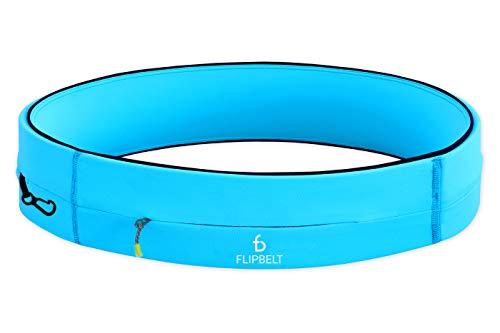 FlipBelt Running & Fitness Workout Belt, Aqua, X-Small