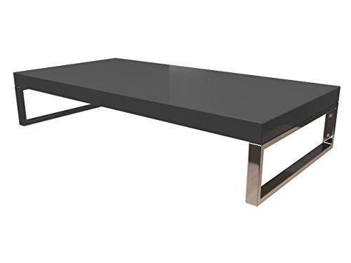 KERABAD Waschtischplatte Waschtischkonsole für Aufsatzwaschbecken und Waschschalen Holzplatte Badmöbel Tischplatte 50x45x5cm Anthrazit Hochglanz kb-wt50120anth-9