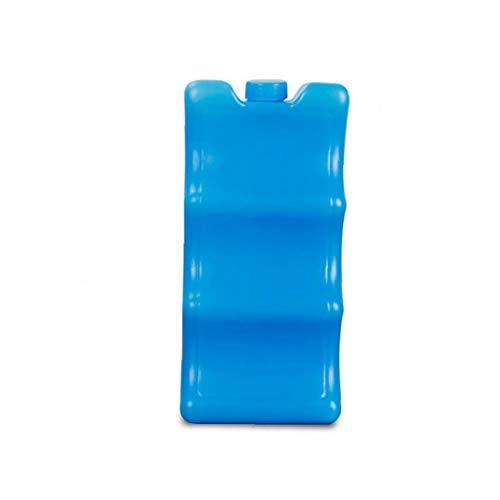 Yoyakie La Bolsa De Hielo para La Forma Contorneada La Leche Materna De Almacenamiento Reutilizable Bolsa De Hielo Durante Leche Materna Enfriador Pack (Azul)