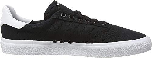 adidas 3Mc, Zapatillas de Skateboard Unisex Adulto, Negro (Core Black/Core Black/FTWR White Core Black/Core Black/FTWR White), 42 EU