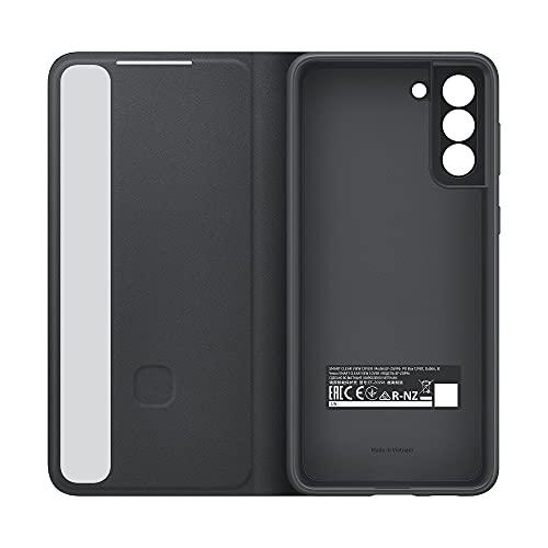 Samsung EF-ZG996CBEGEW Clear View Cover per Galaxy S21+ 5G (2021), Nero, 6.2 pollici
