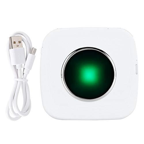 IDWT Impresora Bluetooth Duradera, Impresora térmica portátil para cámara, para impresión de imágenes, extracción de Texto(White, Pisa Leaning Tower Type)
