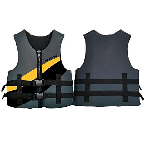 FSDH Giacca da Salvataggio, Giacca da Nuoto Giacca booyancy, con Cintura di Sicurezza Regolabile, Adatto per la Pesca, Navigazione, Surf, Canottaggio, Kayak e Sport Acqua XXS