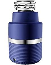 ZKHD Amoladora De Alimentos Compactos, Fregadero Automático del Disfretador De Desechos Silenciosos del Interruptor Inalámbrico 1.2L Cámara De Molienda