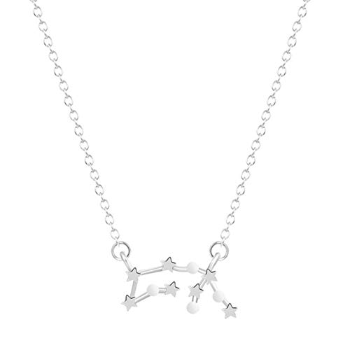 sufengshop Aquarius sterrenbeeld Astrologie Ketting Constellatie januari en februari Verjaardagscadeau