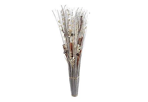 Kobolo XXL Dekobündel weiß braun 150 cm
