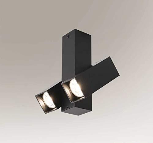 SHILO Mitsuma 7998 - Lámpara de techo (2 x 5 W, GU10, IP20)